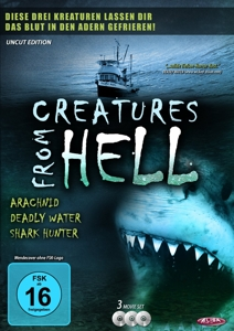 Creatures From Hell (3DVD-Set) | Dodax.at
