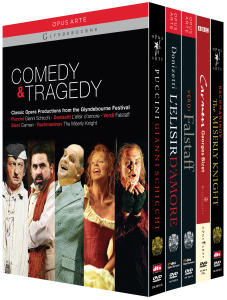 Comedy & Tragedy - Glyndebourne, 6 DVDs | Dodax.es