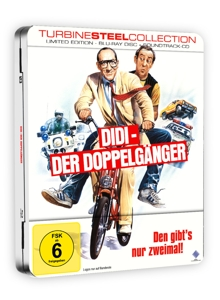Didi - Der Doppelgänger, 1 Blu-ray + Audio-CD (Limited Turbine Steel) | Dodax.de
