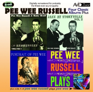 Four Classic Albums Plus: Jazz At Storyville, Vol. 1/Jazz At Storyville, Vol. 2/Portrait of Pee Wee/Pee Wee Russell Plays | Dodax.es