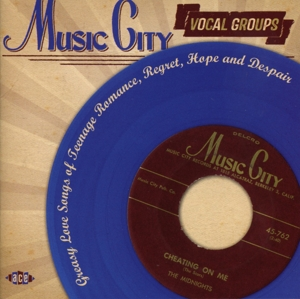 Music City Vocal Groups: Greasy Love Songs of Teenage Romance, Regret, Hope and Despair | Dodax.co.uk