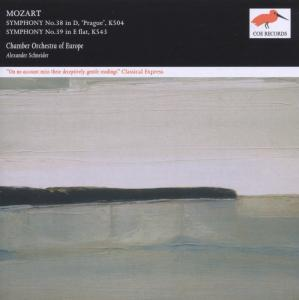 Mozart: Symphony No. 38 in D 'Prague', K. 504; Symphony No. 39 in E flat, K. 543 | Dodax.es