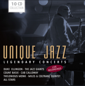 UNIQUE JAZZ LEGENDARY CONCERTS | Dodax.nl