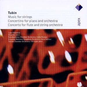 Eduard Tubin: Music for Strings; Concertino for piano and orchestra; Concerto for flute and string orchestra | Dodax.nl