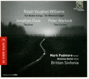 Vaughan Williams: Ten Blake Songs; On Wenlock Edge; Dove: The End; Warlock: The Curlew | Dodax.fr