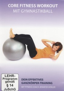 Core Fitness Workout mit Gymnastikball, 1 DVD | Dodax.at