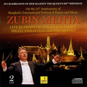 Zubin Mehta - Live in Front of the Grand Palace (Bangkok), 2 Audio-CDs | Dodax.ch