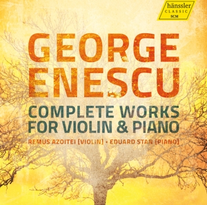 George Enescu: Complete Works for Violin & Piano | Dodax.it