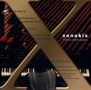 Xenakis: Works with Piano | Dodax.at