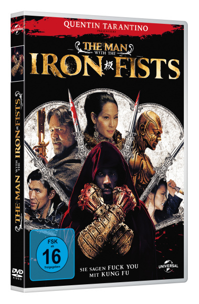 The Man with the Iron Fists, 1 DVD | Dodax.at