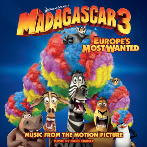Madagascar 3 - Europe's Most Wanted, 1 Audio-CD | Dodax.ch