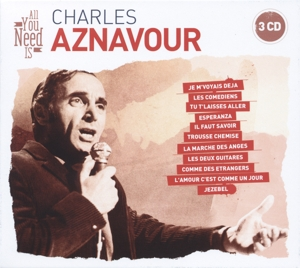 All You Need Is: Charles Aznavour | Dodax.ch