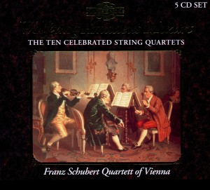 Mozart: The Ten Celebrated String Quartets | Dodax.es