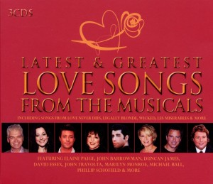 Latest & Greatest Love Songs from the Musicals | Dodax.es