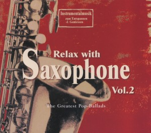 Relax with Saxophone, 1 Audio-CD. Vol.2 | Dodax.ch