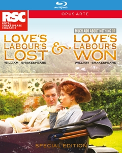 Love's Labour's Lost & Love's Labour's Won / Much Ado About Nothing | Dodax.co.uk