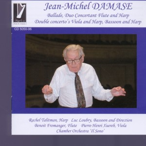 Jean-Michel Damase:Ballade; Duo Concertant Flute and Harp; Double Concertos Viola and Harp, Bassoon and Harp | Dodax.nl