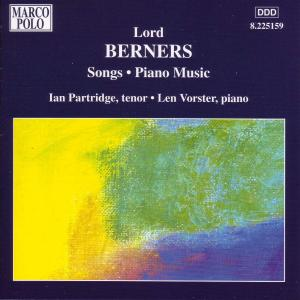 Berners: Songs & Solo Piano Music | Dodax.ch