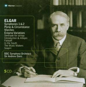 Elgar: Symphonies Nos 1 & 2; Pomp & Circumstance Marches; Enigma Variations | Dodax.nl
