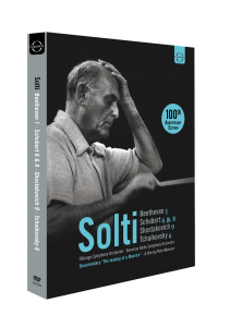 Solti conducts Beethoven & Schubert | Dodax.fr