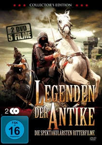Legenden der Antike - Die spektakulärsten Ritterfilme, 2 DVDs (Collector's Edition) | Dodax.at