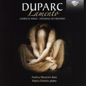 Duparc: Lamento - Complete Songs   Dodax.ch