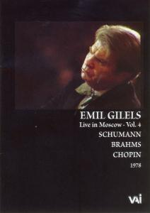 Emil Gilels, Live in Moscow, Vol. 4 [DVD Video] | Dodax.at