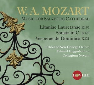 Mozart: Music for Salzburg Cathedral | Dodax.es