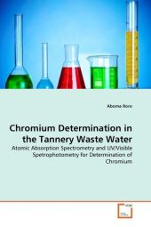 Chromium Determination in the Tannery Waste Water - Aboma Roro