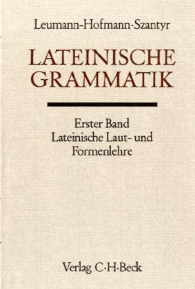 Lateinische Grammatik. Tl.1 | Dodax.at