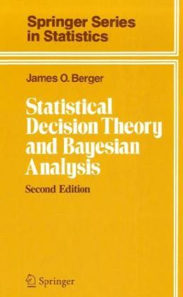 Statistical Decision Theory and Bayesian Analysis   Dodax.pl