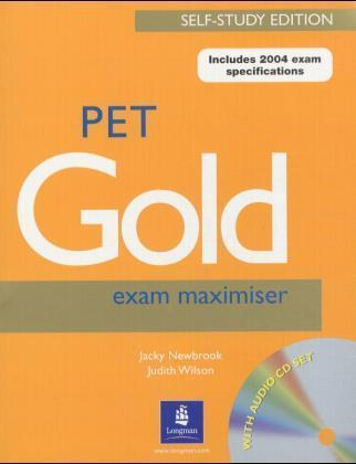 PET Gold Exam Maximiser, Self-Study-Edition w. 2 Audio-CDs | Dodax.ch