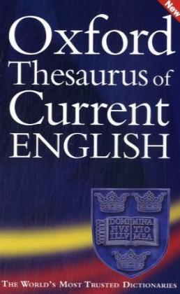 Oxford Thesaurus of Current English | Dodax.pl