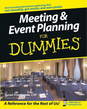 Meeting & Event Planning for Dummies | Dodax.co.jp