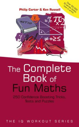 The Complete Book of Fun Maths | Dodax.com