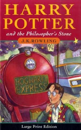 Harry Potter and the Philosopher's Stone, large print edition | Dodax.ch