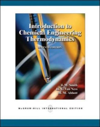 Introduction to Chemical Engineering Thermodynamics | Dodax.ch