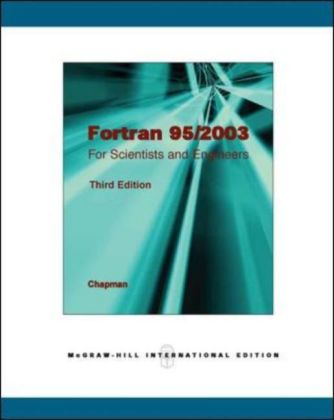 Fortran 95/2003 for Scientists and Engineers | Dodax.pl