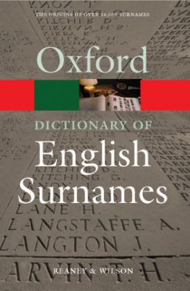 Oxford Dictionary of English Surnames | Dodax.pl