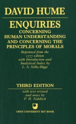 Enquiries Concerning Human Understanding And Concerning The Principles Of Morals | Dodax.at