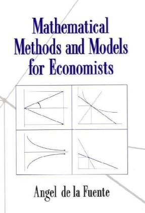 Mathematical Methods and Models for Economists   Dodax.ch