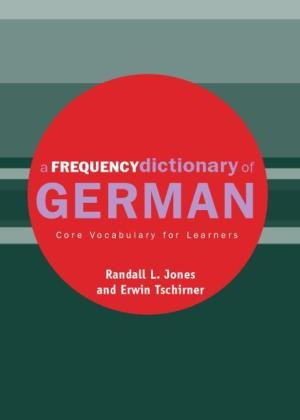 A Frequency Dictionary of German | Dodax.pl