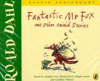 Fantastic Mr. Fox and other Animal Stories, 4 Audio-CDs | Dodax.co.uk