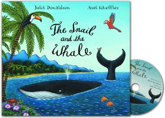 The Snail and the Whale, Audio-CD + book | Dodax.ch
