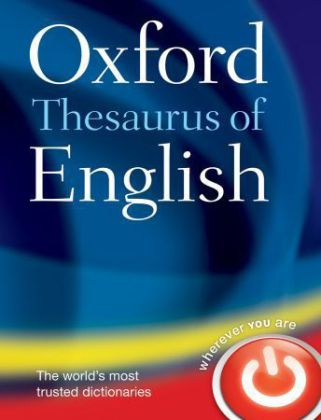 Oxford Thesaurus of English | Dodax.at
