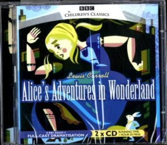 Alice's Adventures in Wonderland, 2 Audio-CDs. Alice im Wunderland, 2 Audio-CDs, engl. Version | Dodax.ch