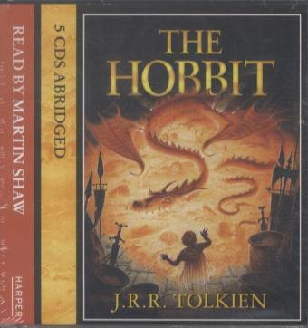The Hobbit, 5 Audio-CDs | Dodax.ch