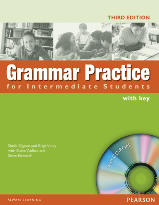 Grammar Practice for Intermediate Students, with Key and CD-ROM | Dodax.ch