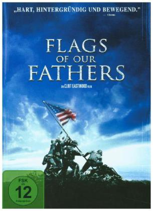 Flags of our Fathers, 1 DVD, deutsche, englische u. spanische Version | Dodax.es
