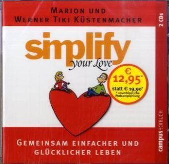 Simplify your love, 2 Audio-CDs | Dodax.at
